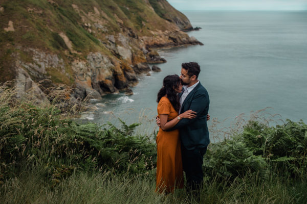 Where to Elope in Ireland - Howth Elopement - Dublin Howth photographer - couple and engagement photos -1