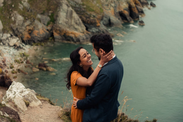 Where to Elope in Ireland - Howth Elopement - Dublin Howth photographer - couple and engagement photos -2