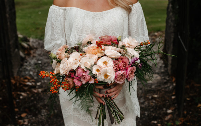 Kristine Hayes Bridal Flowers Blackwater Castle Destination Wedding Photographer Ireland
