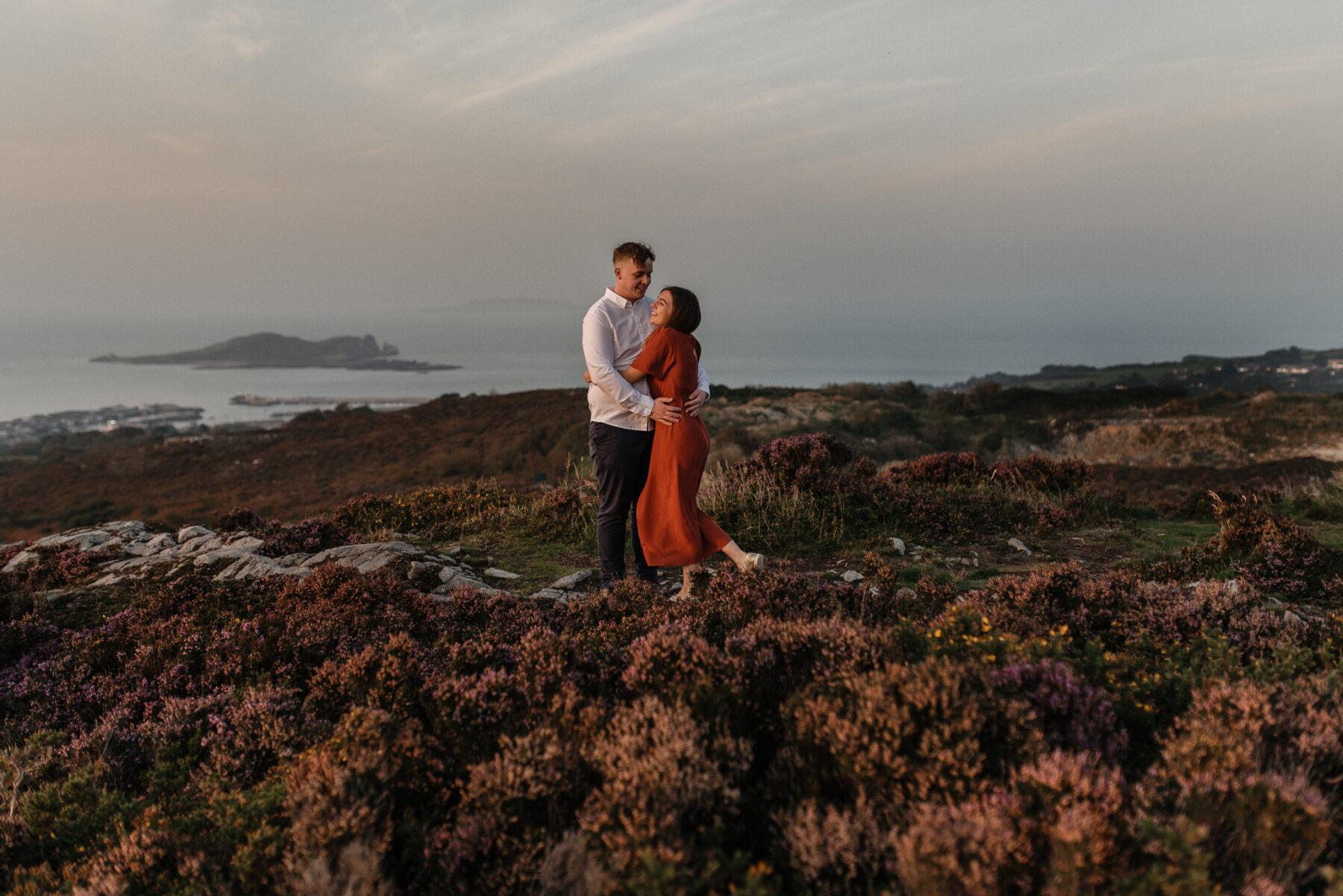 Engagement Photos Dublin Photographer Howth