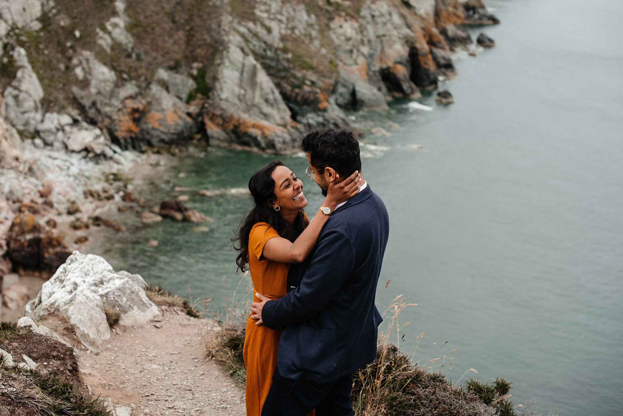 Howth Engagement Elopement Photo Session - Howth Photographer - Dublin Family Photographer-1