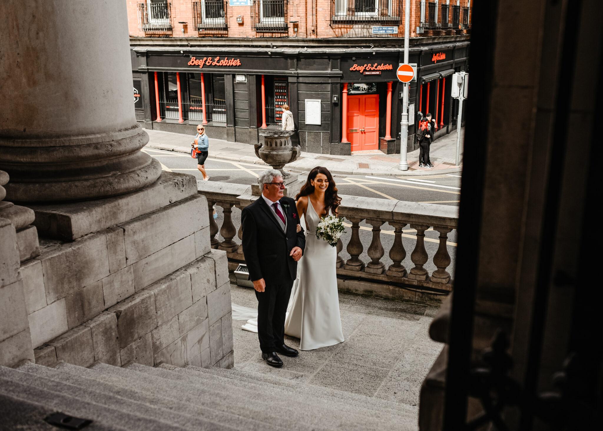 City Hall Wedding Photos Intercontinental Hotel Dublin 8
