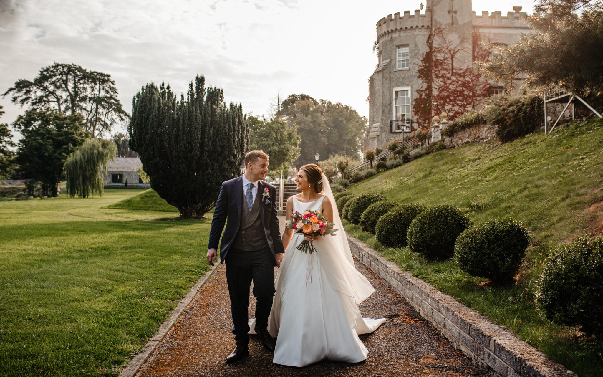 Bellingham Castle wedding photos